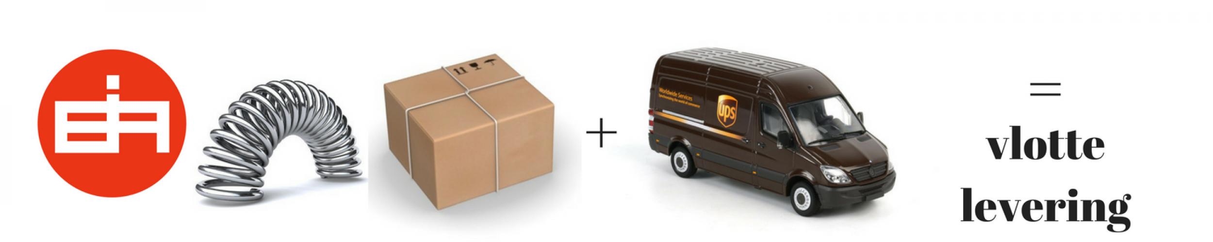 Inexal en UPS samen garant voor een snelle en correcte levering